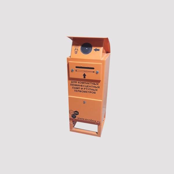 Контейнер для компактных люминесцентных ламп