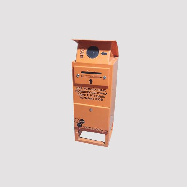 Контейнер для компактных люминесцентных ламп 1-ЭЛ-1М