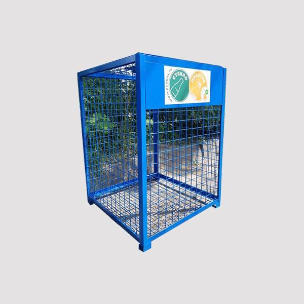 Контейнер для сбора стекла и пластика КБ 1-3
