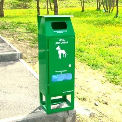 эко урна для собачьих площадок