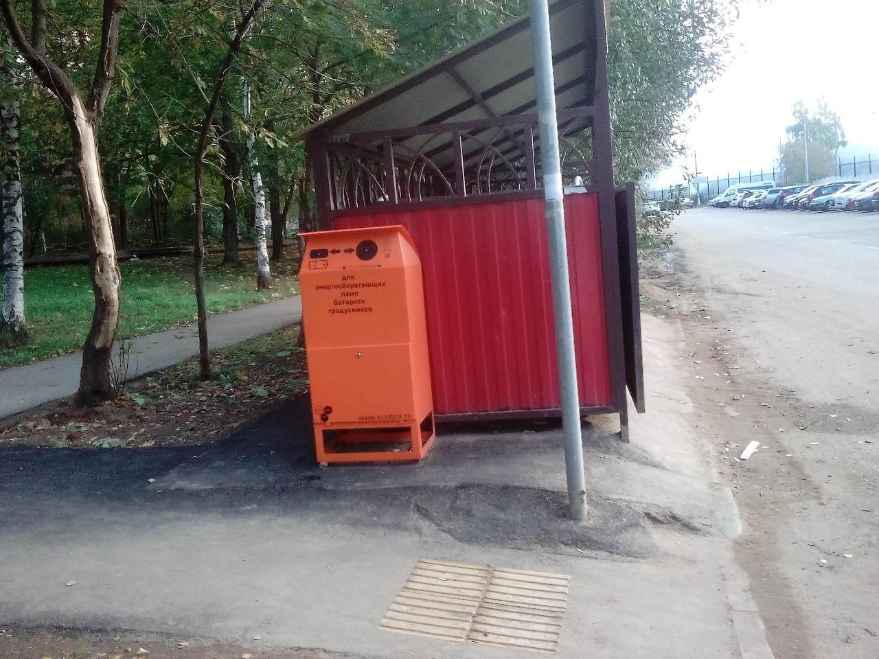 Установка контейнеров в городе